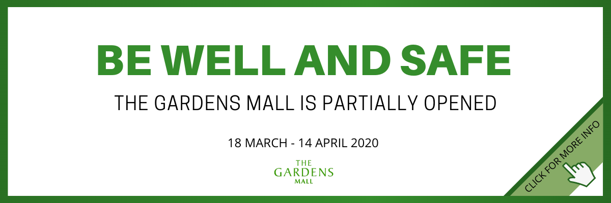 THE GARDENS MALL IS PARTIALLY OPEN (1)